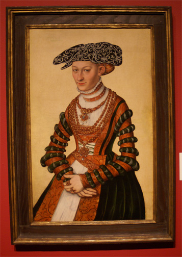 Portrait of a Lady by Cranach