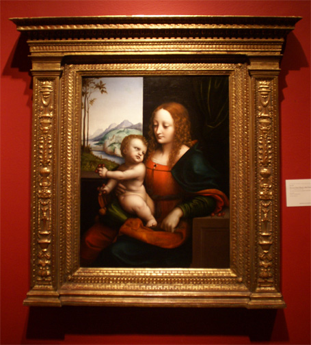 """Madonna of the Cherries"" by Giampietrino"
