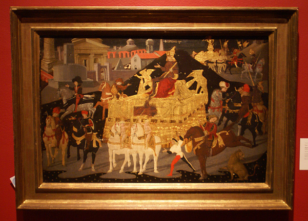 """The Triumph of Scipio Africanus"" by Apollonio di Giovanni"