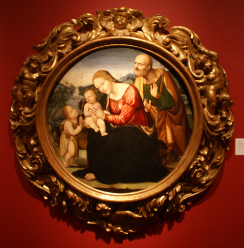 """The Holy Family"" by Sodoma"