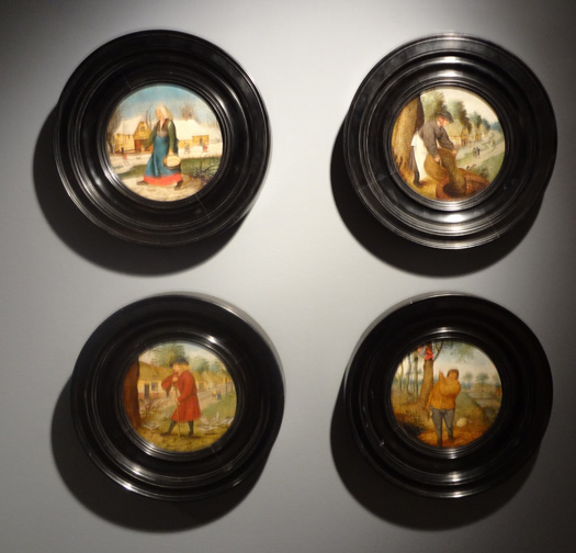 Four seasons by Brueghel