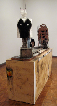 """My Skull is Too Small"" by Huma Bhabha"