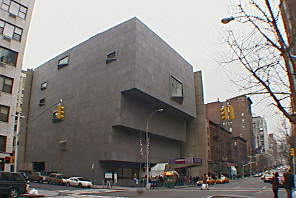 The Whitney Museum on Madison Avenue at 75th Street