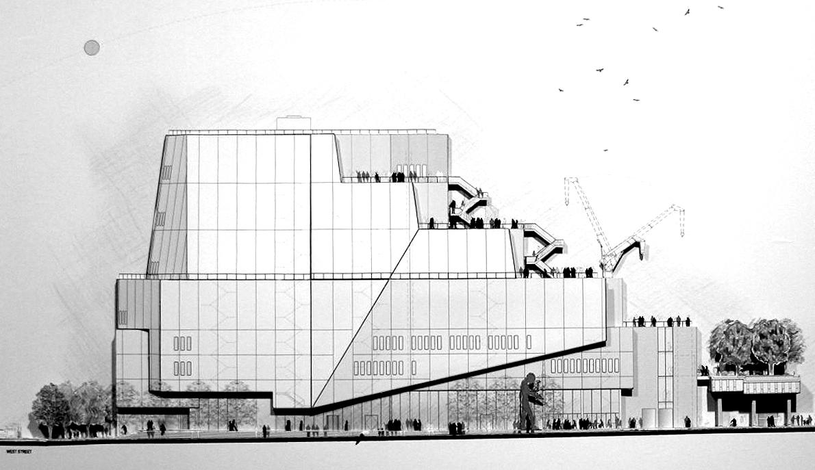 Renzo Piano's plan for Whitney Museum at the High Line
