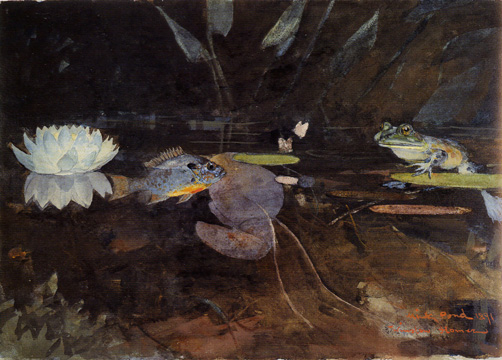 """The Mink Pond"" by Winslow Homer"