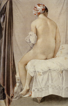 """The Bather"" by Ingres"
