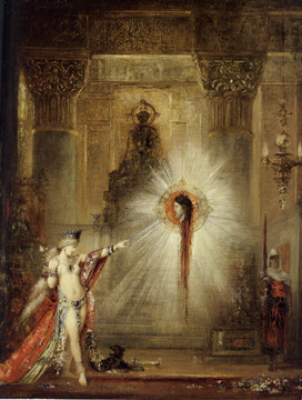 """The Apparition"" by Moreau"