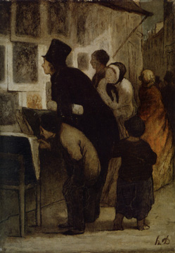 """The Print Amateur"" by Daumier"