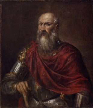 """Portrait of an Admiral"" by Titian"