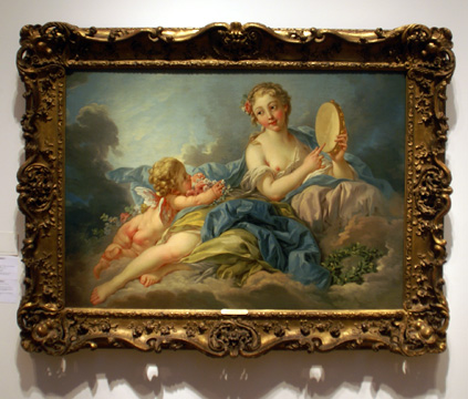 """The Muse Erato"" by Boucher"