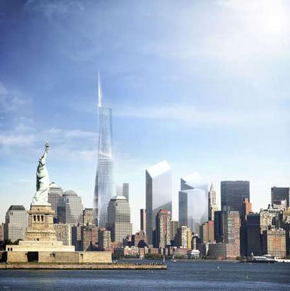 Plots Amp Plans Freedom Tower Scheme By David Childs And