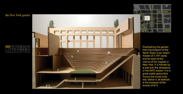 Plan calls for an amphitheater